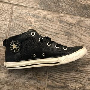 Converse All Star Street Mid Boys Sneakers Leather
